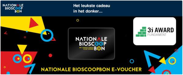bioscoopbon bij deelname 3i Award